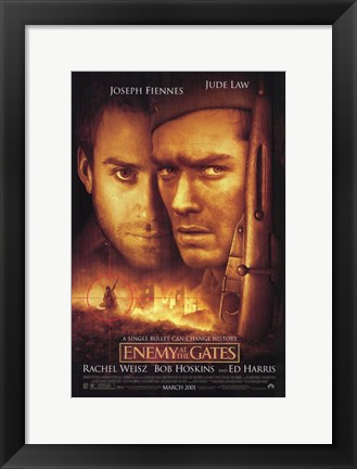 Framed Enemy At the Gates Print