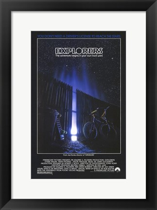 Framed Explorers Print