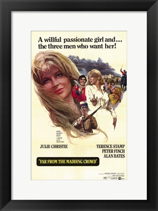 Framed Far from the Madding Crowd Print