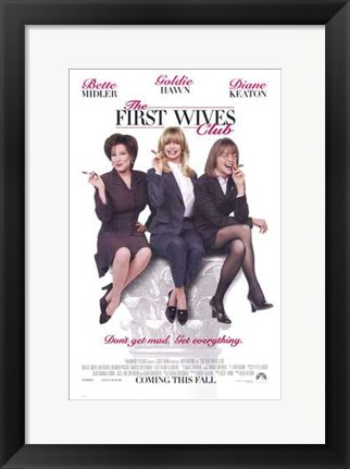 Framed First Wives Club Print