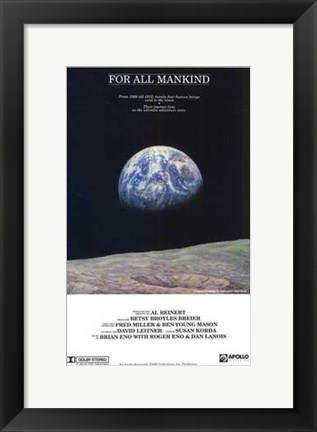 Framed for All Mankind Print