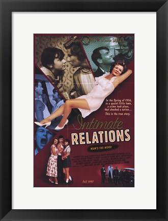 Framed Intimate Relations Print