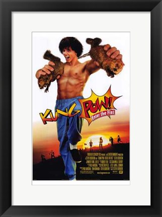 Framed Kung-Pow: Enter the Fist Print