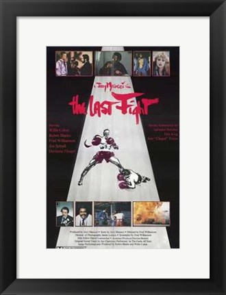Framed Last Fight Print