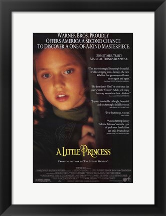 Framed Little Princess Print