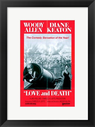 Framed Love and Death Print