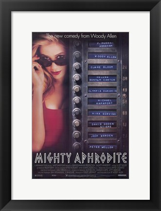 Framed Mighty Aphrodite Print