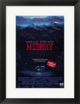Framed Misery Cabin Print