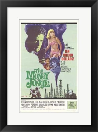 Framed Money Jungle Print