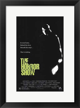 Framed Horror Show Print