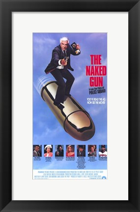 Framed Naked Gun: from the Files of Police Squa Print