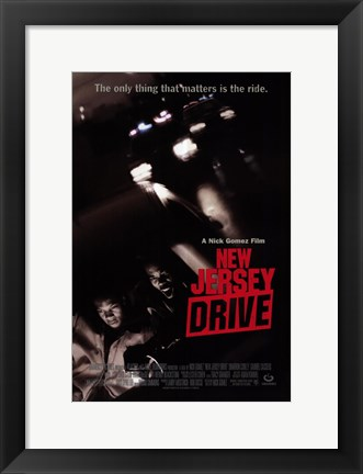 Framed New Jersey Drive Print
