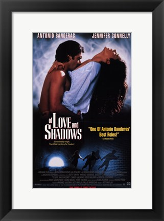 Framed of Love and Shadows Print
