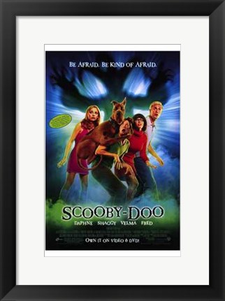 Framed Scooby-Doo Print