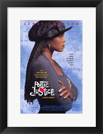 Framed Poetic Justice Print