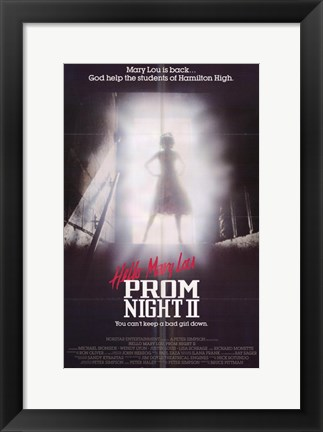 Framed Hello Mary Lou: Prom Night 2 Print