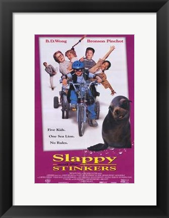 Framed Slappy and the Stinkers Print