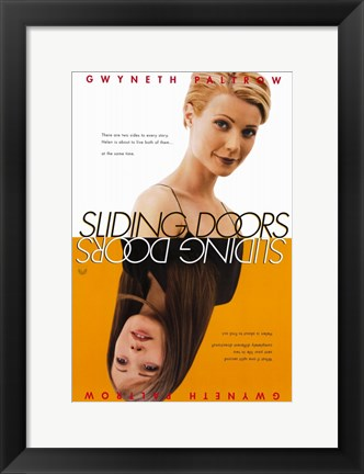 Framed Sliding Doors Print