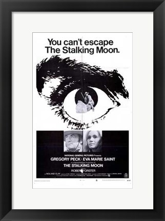 Framed Stalking Moon Print