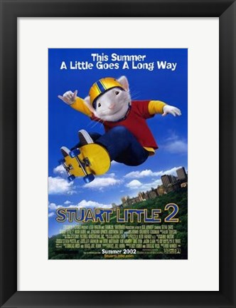 Framed Stuart Little 2 Print