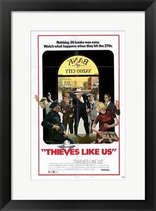 Framed Thieves Like Us Print