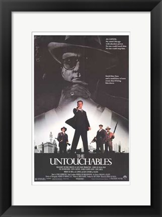 Framed Untouchables Print