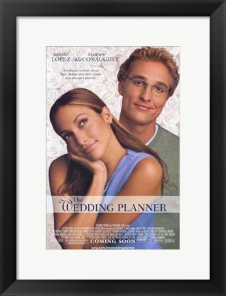 Framed Wedding Planner Print