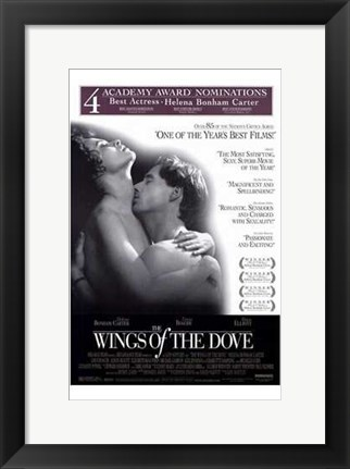 Framed Wings of the Dove Print