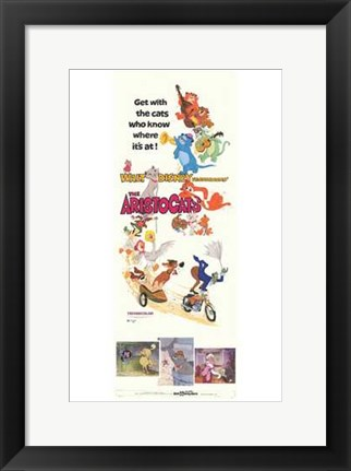 Framed Aristocats Print