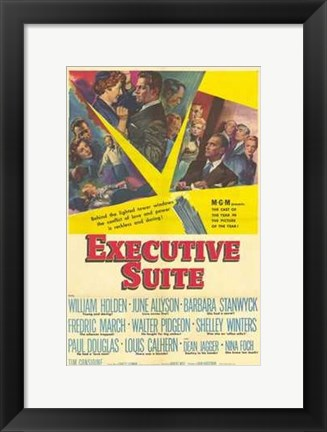 Framed Executive Suite Print