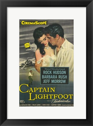 Framed Captain Lightfoot Print