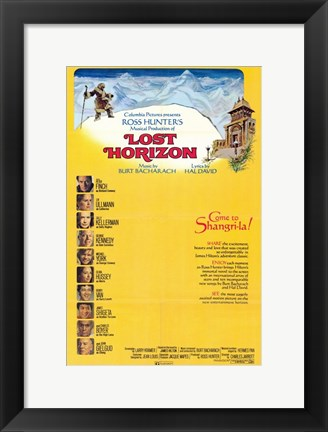 Framed Lost Horizon Come to Shangri-la Print