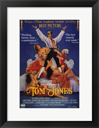 Framed Tom Jones Print