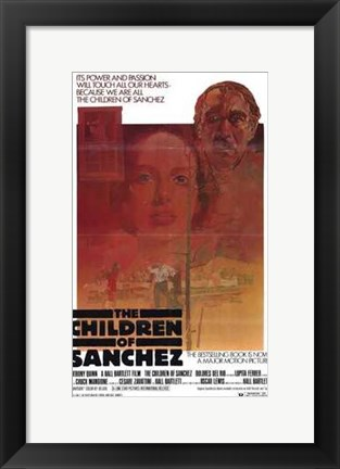 Framed Children of Sanchez Print