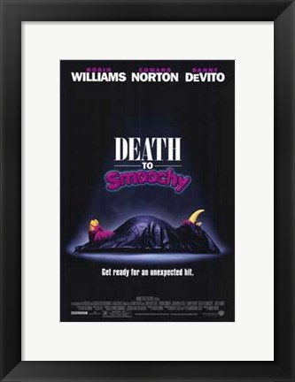 Framed Death to Smoochy Print