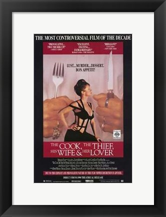 Framed Cook  the Thief  His Wife and Her Lover Print