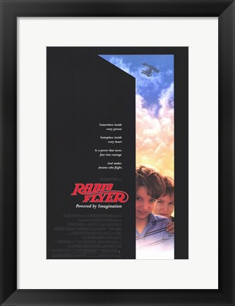 Framed Radio Flyer Print