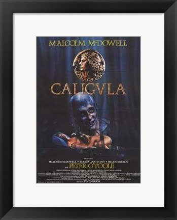 Framed Caligula Peter O'Toole Print