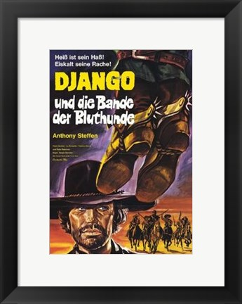 Framed Django the Bastard Print