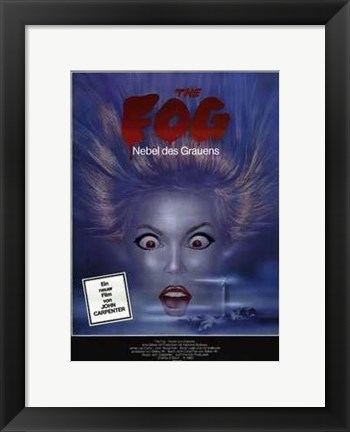 Framed Fog - Woman Face Print