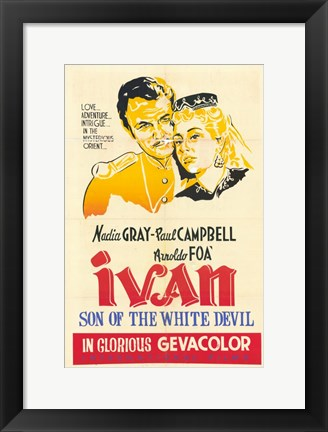Framed Ivan  Son of the White Devil Print