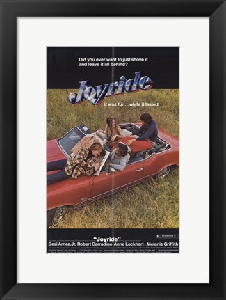 Framed Joy Ride Print