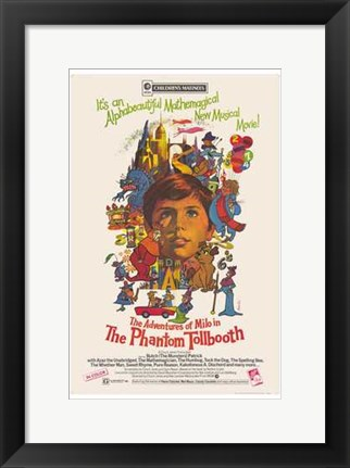 Framed Phantom Tollbooth Musical Movie Print