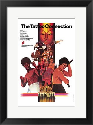 Framed Tattoo Connection movie poster Print