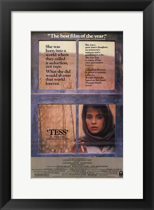 Framed Tess Window Print