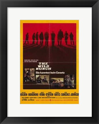 Framed Wild Bunch Print