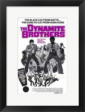 Framed Dynamite Brothers Print