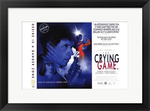 Framed Crying Game  Stephen Rea Print