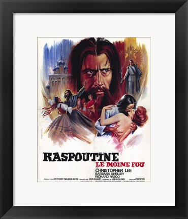 Framed Rasputin - the Mad Monk Print