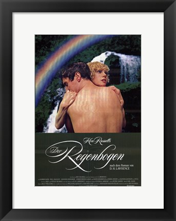 Framed Rainbow Print